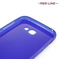 Red Line силиконовый чехол для Samsung Galaxy A7 2017 SM-A720F - Синий