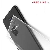 Red Line силиконовый чехол для Samsung Galaxy A8 Plus 2018 - Прозрачный