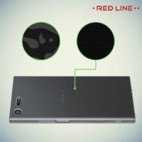 Red Line силиконовый чехол для Sony Xperia XZ Premium - Прозрачный