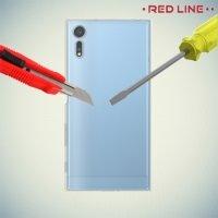 Red Line силиконовый чехол для Sony Xperia XZ / XZs - Прозрачный