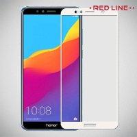 Red Line Закаленное защитное стекло для Huawei Y5 2018 / Y5 Prime 2018 - Белый