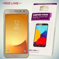 Red Line Закаленное защитное стекло для Samsung Galaxy J7 Neo