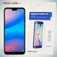 Red Line защитная пленка для Huawei P20 Lite на весь экран