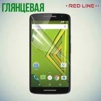 Red Line защитная пленка для Motorola Moto X Play