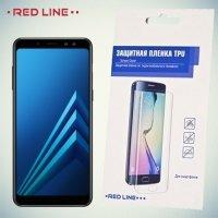 Red Line защитная пленка для Samsung Galaxy A8 2018 на весь экран