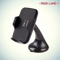 Автомобильный держатель RedLine Car Charger Qi с беспроводной зарядкой