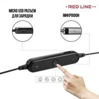 Беспроводные Bluetooth наушники Red Line BHS-01 - Черный
