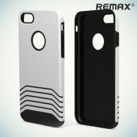 Remax Saman противоударный чехол для iPhone 8/7 - Серебряный