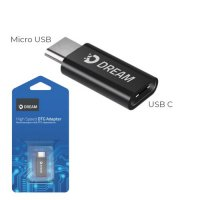 Dream OTG Adapter с Type-C на micro-USB переходник