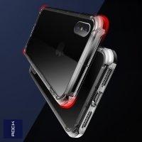 ROCK Fence Series Силиконовый защитный чехол для iPhone X - Прозрачный
