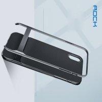 ROCK Royce Series Гибридный двухкомпонентный защитный чехол для iPhone Xs Max - Серый