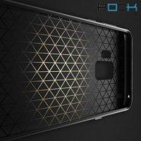 ROCK Royce Series Гибридный двухкомпонентный защитный чехол для Samsung Galaxy S9 - Черный