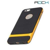 ROCK Royce Series тонкий противоударный чехол для iPhone 6S / 6 - Оранжевый