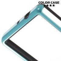 Силиконовый бампер для Sony Xperia Z3 Compact D5803 - Голубой