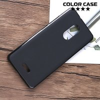 Силиконовый чехол для Alcatel 3C 5026D - Матовый Черный