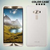 Силиконовый чехол для Asus Zenfone 3 ZE552KL - Матовый Белый