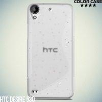 Силиконовый чехол для HTC Desire 530 / 630 - S-образный Прозрачный