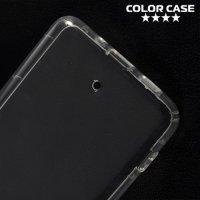 Силиконовый чехол для HTC U11 Plus противоударный - Прозрачный