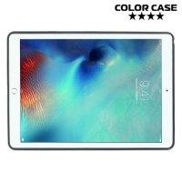 Силиконовый чехол для iPad Pro 9.7 - X-образный Черный