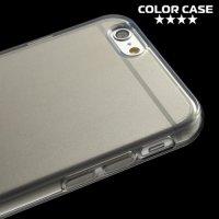 Силиконовый чехол для iPhone 6S / 6 - Глянцевый Серый