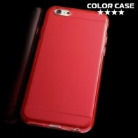 Силиконовый чехол для iPhone 6S / 6 - Глянцевый Красный