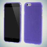 Силиконовый чехол для iPhone 6S / 6 - Матовый Фиолетовый