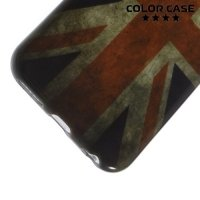 Силиконовый чехол для iPhone 6S / 6 - с рисунком Британский флаг