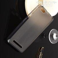 Силиконовый чехол для Lenovo Vibe C A2020 - Матовый Черный