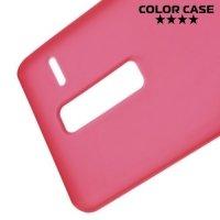 Силиконовый чехол для LG Class H650E - Матовый Красный