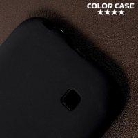 Силиконовый чехол для LG K3 2017 - Матовый Черный