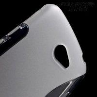 Силиконовый чехол для LG K5 X220ds - S-образный Прозрачный