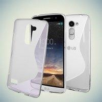 Силиконовый чехол для LG Ray X190 - S-образный Прозрачный