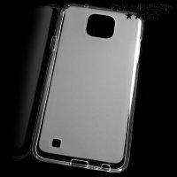 Силиконовый чехол для LG X cam - Матовый Белый