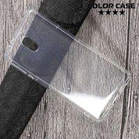 Силиконовый чехол для Nokia 3 противоударный - Прозрачный