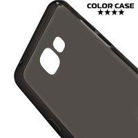 Силиконовый чехол для Samsung Galaxy A5 (2016) SM-A510F - Матовый Черный