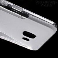 Силиконовый чехол для Samsung Galaxy A5 2016 SM-A510F - S-образный Прозрачный