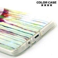 Силиконовый чехол для Samsung Galaxy A7 - с рисунком Ловец снов