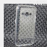Силиконовый чехол для Samsung Galaxy J1 2016 SM-J120F с заглушками от пыли