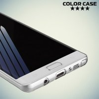 Тонкий силиконовый чехол для Samsung Galaxy Note 7 - Прозрачный