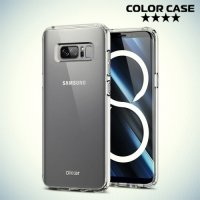 Силиконовый чехол для Samsung Galaxy Note 8 - Глянцевый Прозрачный