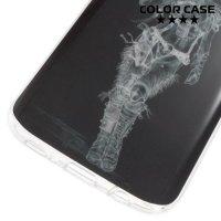 Силиконовый чехол для Samsung Galaxy S7 - с рисунком Ковбой