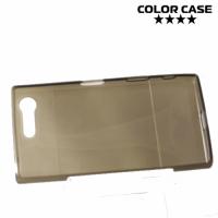Силиконовый чехол для Sony Xperia X Compact - Глянцевый Серый