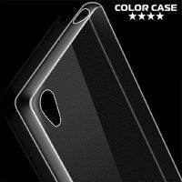 Силиконовый чехол для Sony Xperia Z5 - Глянцевый Прозрачный