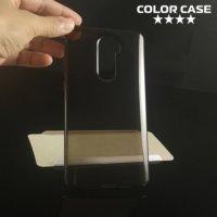 Силиконовый чехол для Xiaomi Mi 5s Plus - Глянцевый Полупрозрачный черный