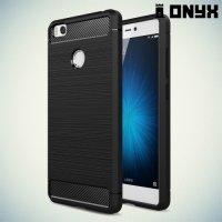 Силиконовый чехол для Xiaomi Mi4s - Матовый Черный