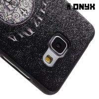 Силиконовый чехол под кожу для Samsung Galaxy A5 2016 SM-A510F - с рисунком Череп