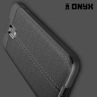 Силиконовый чехол под кожу для Samsung Galaxy J3 2017 SM-J330F - Черный