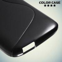 Силиконовый чехол для HTC Desire 526 и 526g+ dual sim - Черный
