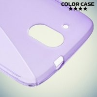 Силиконовый чехол для HTC Desire 526 и 526g+ dual sim - Фиолетовый
