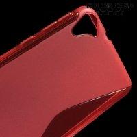 Силиконовый чехол для HTC Desire 826 dual sim - Красный